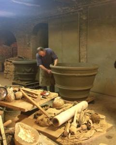 Bottega of Mario Mariani, a traditional working space for terra cotta making