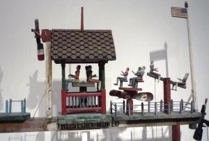 Folk art figurines
