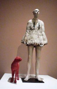 Ceramic sculòpture by Cristina Cordova