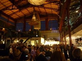 Visione d'insieme del primo piano del mercato di San Lorenzo