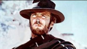 A young Clint Eastwood in Sergio Leone's Spaghetti Western